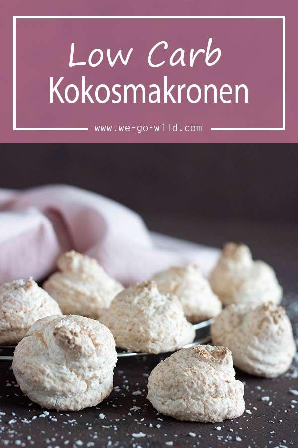 Low Carb Kokosmakronen #kokosmakronenrezept