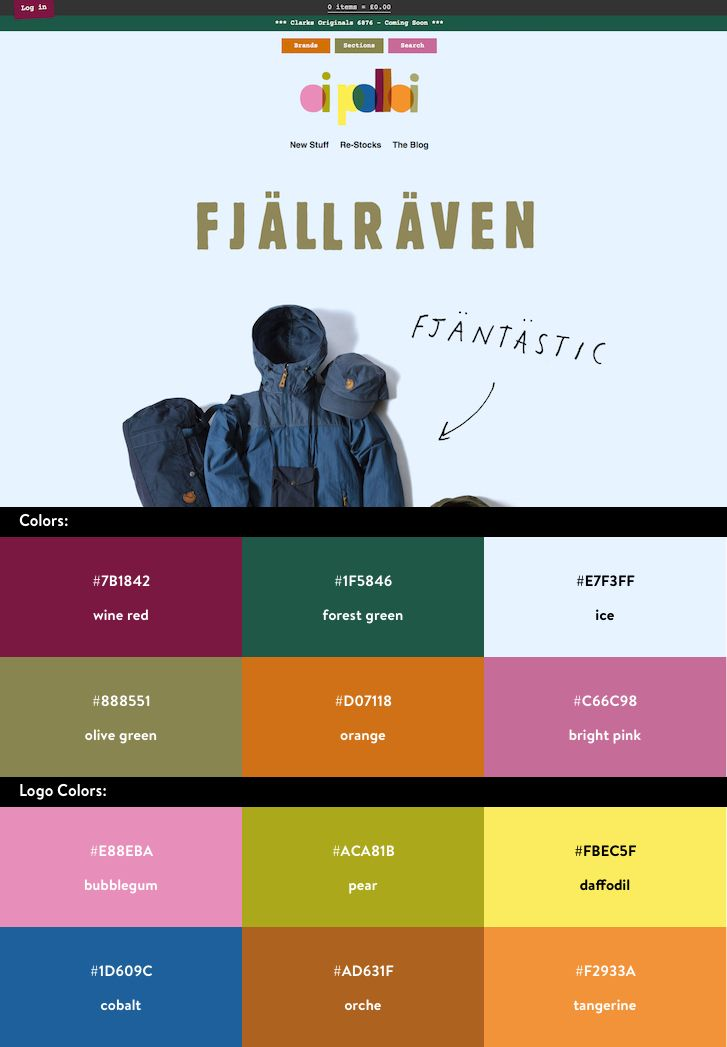 10 Beautiful Ecommerce Website Color Schemes Shopify Website