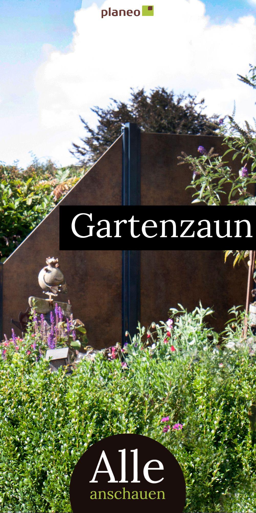 Gartenzaun Sichtschutzzaun Und Zaunelemente Aus Metall Wpc Hpl