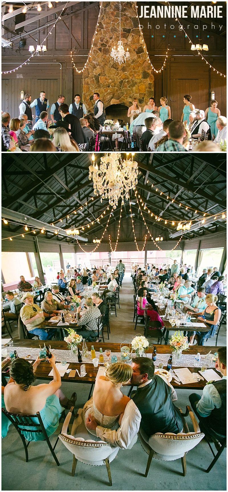 Spring Wedding   Wedding reception decorations, Barn ...