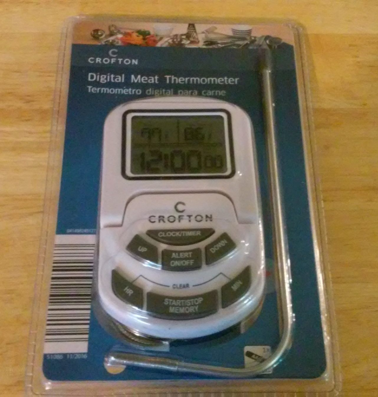 Crofton Digital Meat Thermometer Digital Meat Thermometer Meat