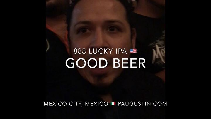 "888 LUCKY Beer or 888 LUCKY IPA named the ""BEST BEER"" at 1) New York City USA ; 2) Annapolis Maryland USA 3) Stockholm Sweden Beers and Mexico City Mexico  festivals by craft beers lovers in attendance check out video at http://ift.tt/2dZvGkD ; 888 Craft Beers Global  Tours : 1st Taipei Taiwan ; 2nd Shanghai China ; 3rd Chongqing China; 4th Costa Rica ; 5th London England ; 6th Stockholm Sweden ; 7th Berlin Germany ; 8th Mexico City Mexico ; 9th Nuremberg Germany; 10th Tokyo Japan ; #Taipei…"
