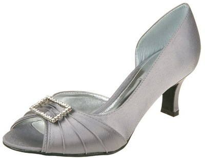 Grey Mother Of The Bride Shoes
