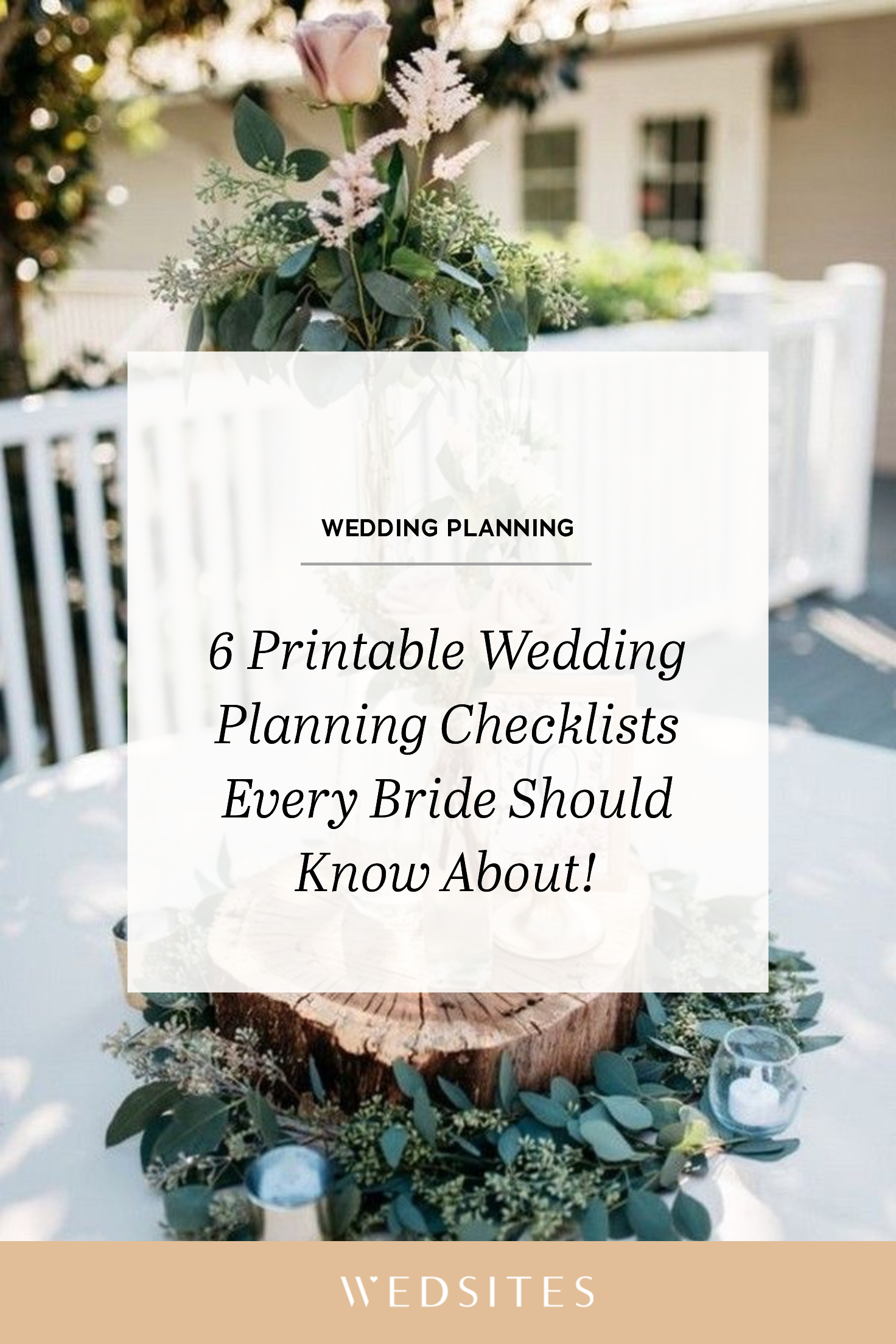 6 Wedding Checklists Every Bride Should Know About Read On
