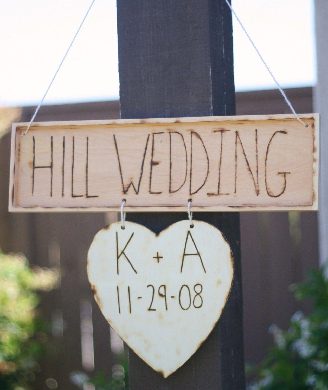 Wooden wedding decor ideas   Rustic Chic Wedding Decoration Ideas  Wood wedding signs Rustic
