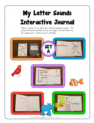 It's Elementary: Letter Sounds Interactive Journal