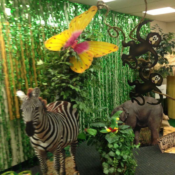 Vbs Safari Vbs Jungle Theme Decorations Jungle Theme