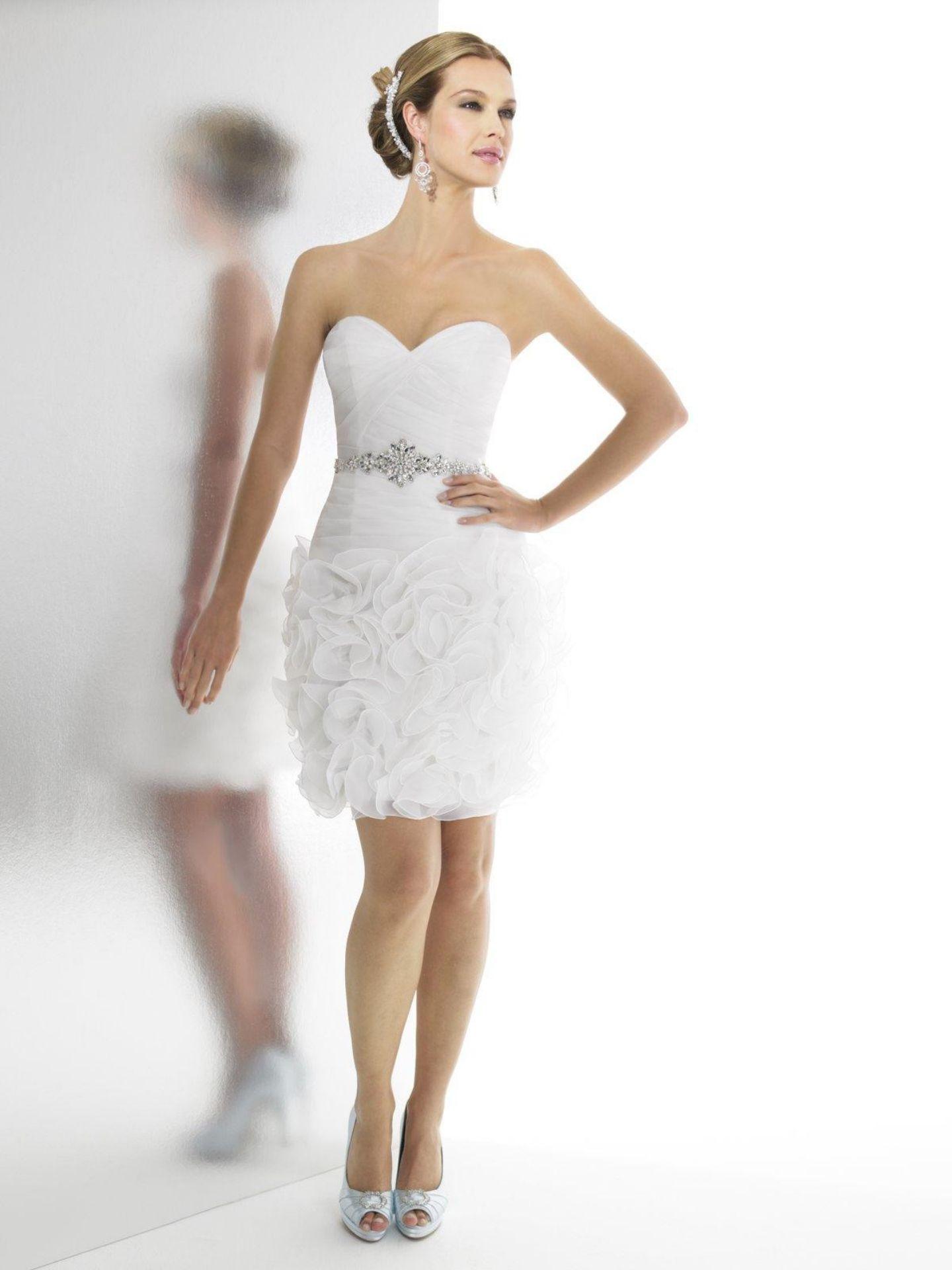 Short Cheap Wedding Dresses Under 100 Weddings Pinterest