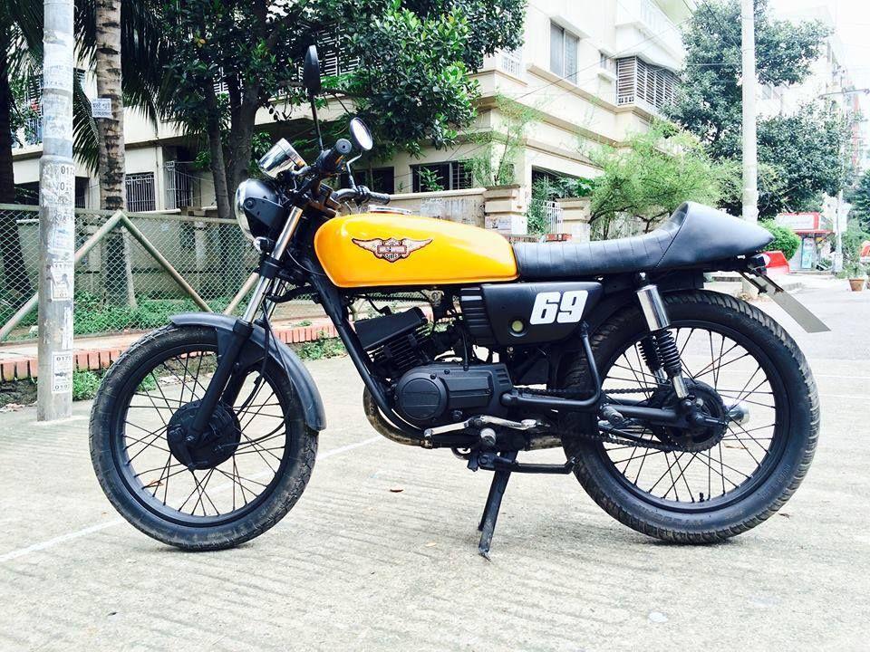Yamaha Rx 100 Custom Cafe Racer