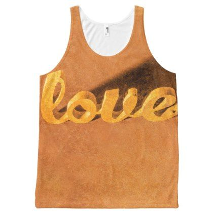#stylish - #Decorating love All-Over-Print tank top