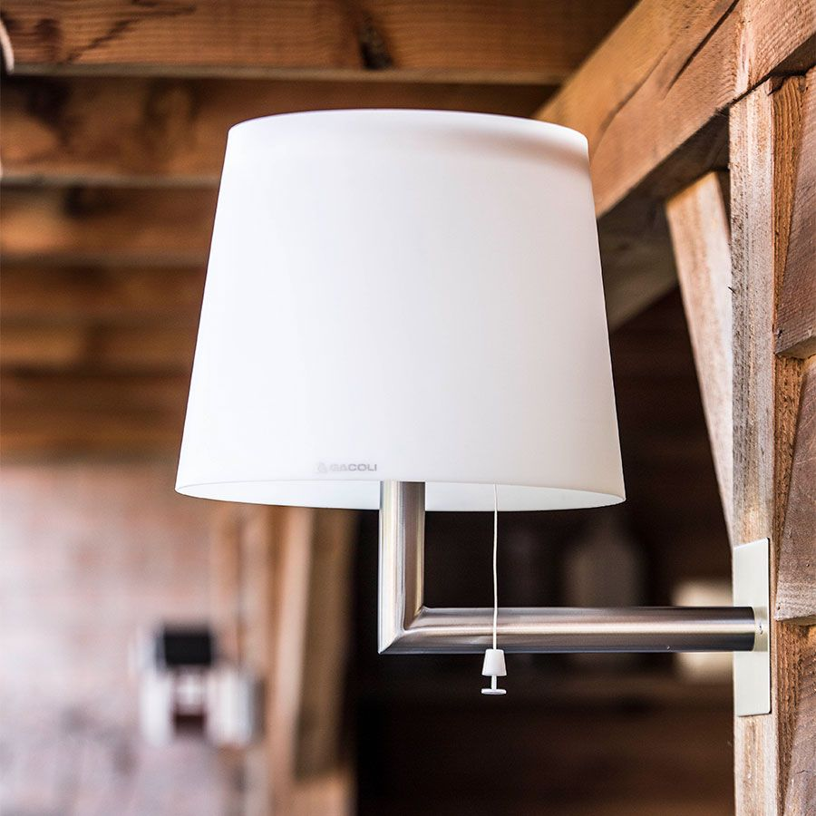 The Simple Design Of The Gacoli Monroe Wall Lamp Makes It The Perfect Addition Anywhere You Need Cordless Wall Mounted Lighti Outdoor Wall Lamps Wall Lamp Lamp