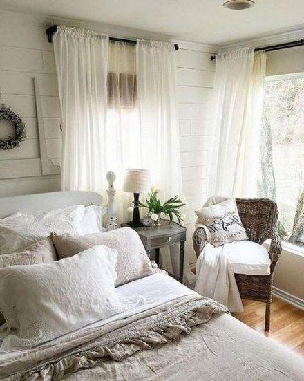 37 Ideas For Farmhouse Style Curtains Ideas | Bedroom ... on Farmhouse Bedroom Curtain Ideas  id=29587
