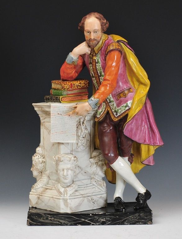 Lot # : 140b - Staffordshire Model of Shakespeare's Monument