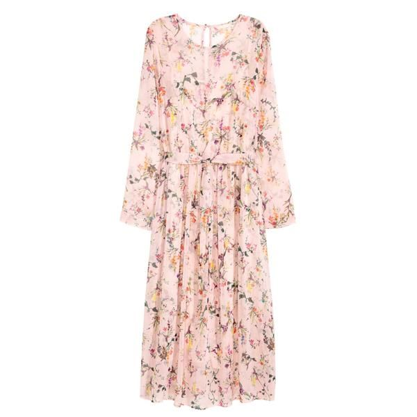 Lovely H&M chiffon maxi dress! The top 25 items to buy for spring ...