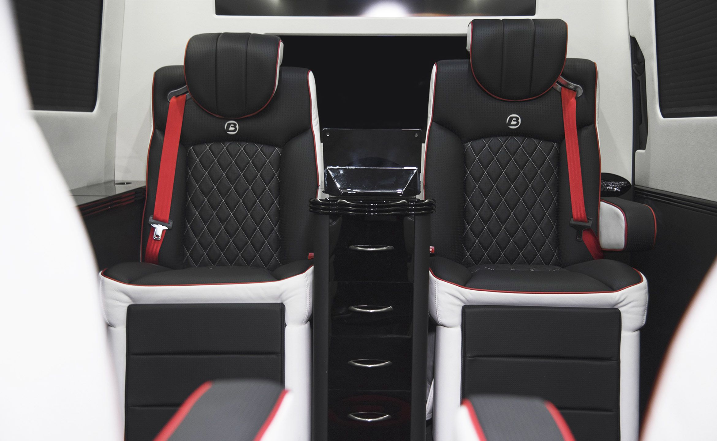 High Roof Executive Coach, Custom Interior Mercedes Benz