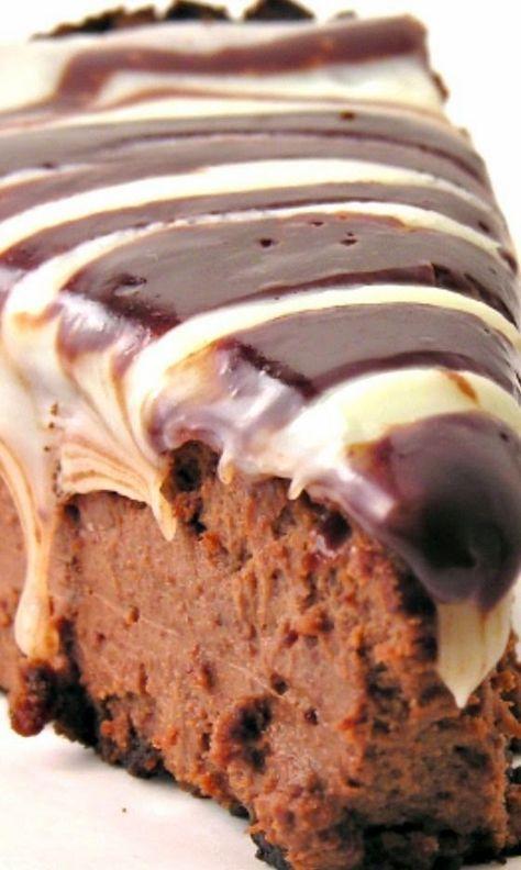 Triple Chocolate Cheesecake Recipe #cheesecakerecipes