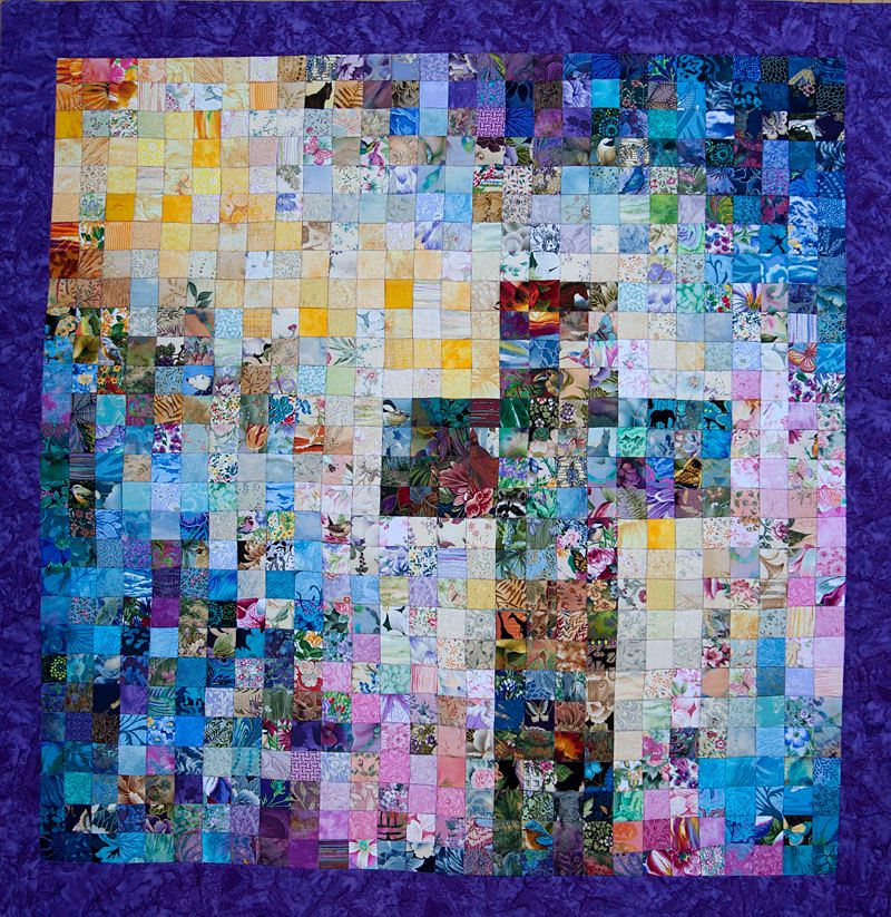 Easter Quilt Watercolor Design Made To Order At Susiebdesigns At