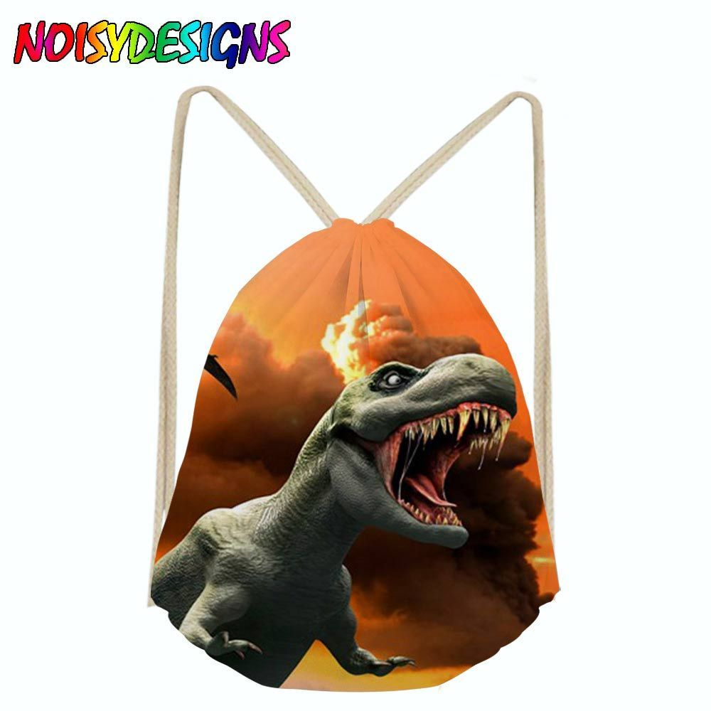 9cc1143c2bf8 Find More Drawstring Bags Information about Dinosaurs Jurassic World  Drawstring Bag Sack Sport Gym Travel Outdoor