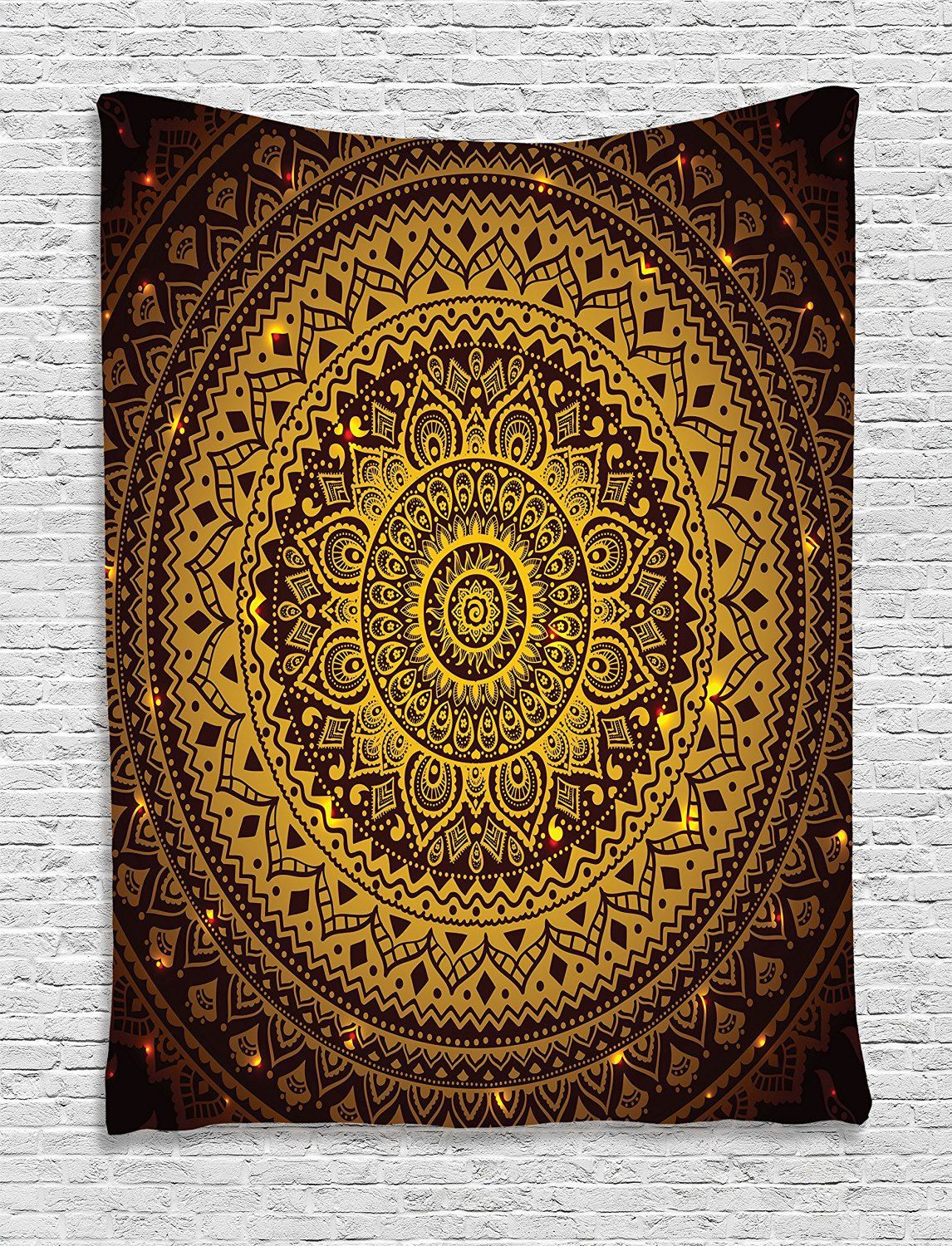 Indian Mandala Tapestry Hippie Home Decorative Wall Hanging ...