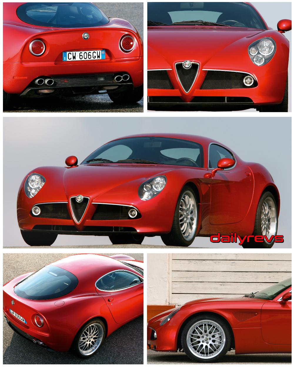 2007 Alfa Romeo 8c Competizione HD Pictures, Videos