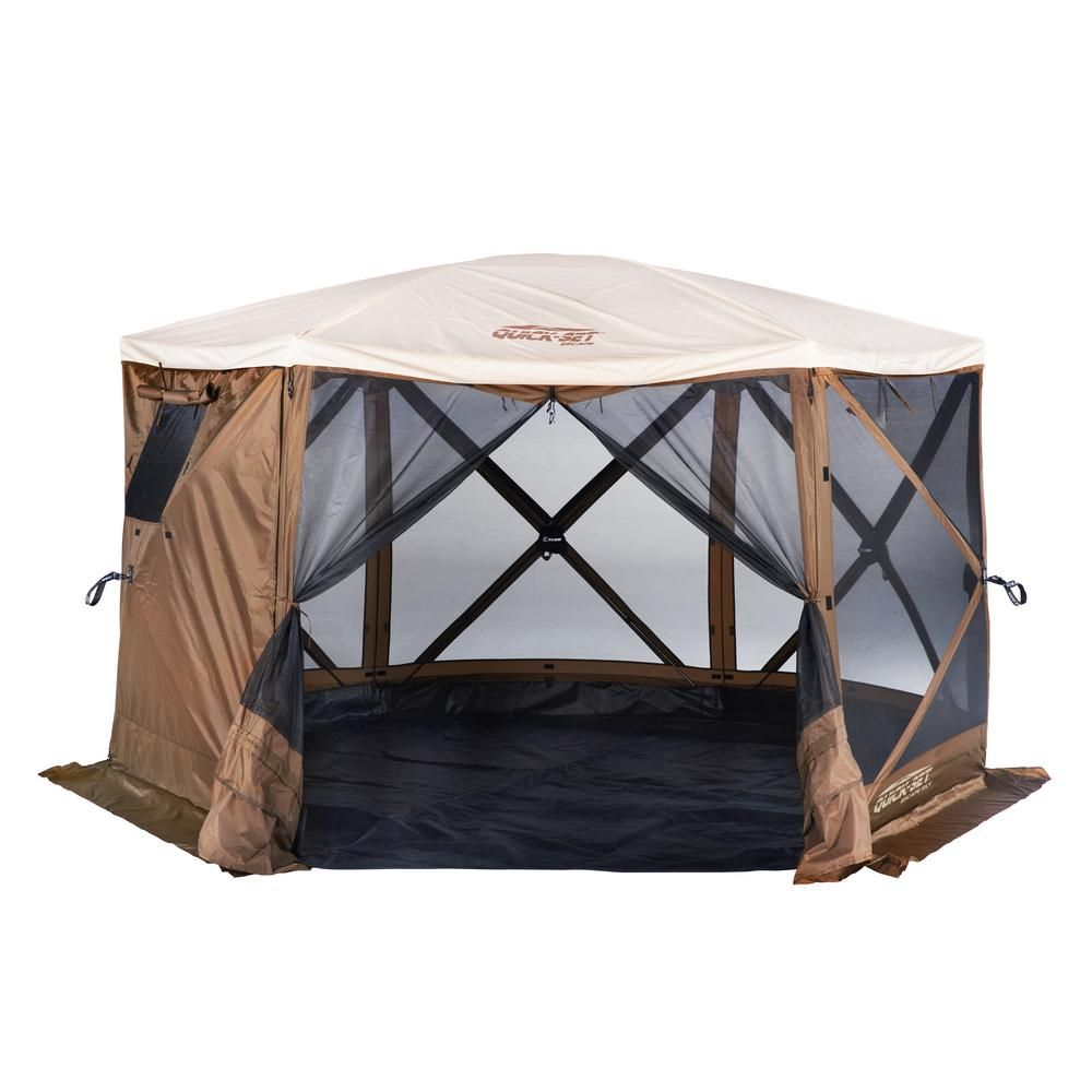 Portable Pop Up 6 Sided Canopy Instant