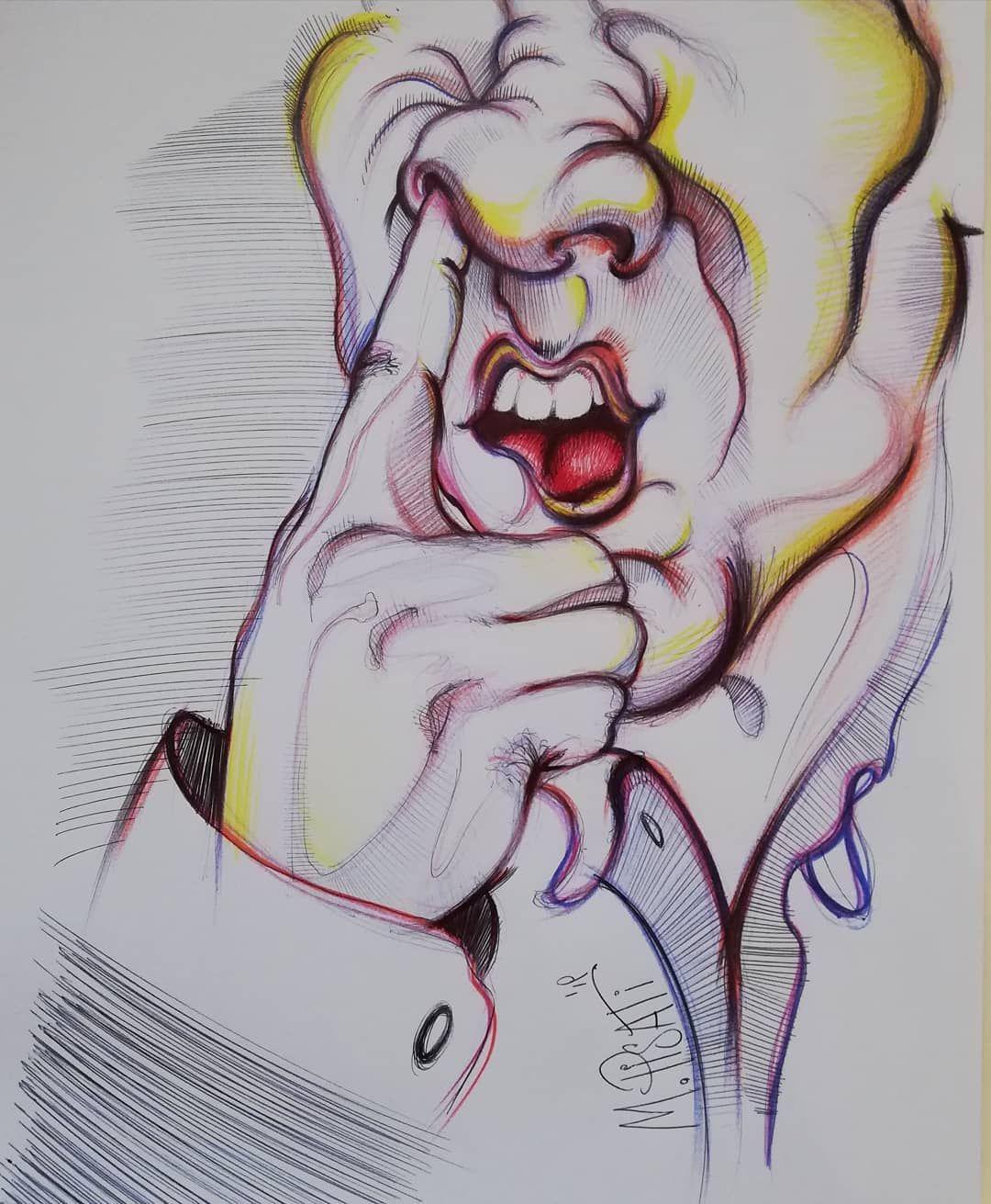 Senza farti vedere #foreground #nose #finger #fingerfood #fingerfoodparty #nosedrawing #drawing #drawingexpression #artwork #sketchman #sketchingart #fastsketch #fastdrawing #pensketching #pen #pendrawings #pencilcolours #colorsketch #illustrationart #illustration #illustrationgallery #paintingart #handsketch #handillustration #hands #sketchgallery #galleryartist #foodporn