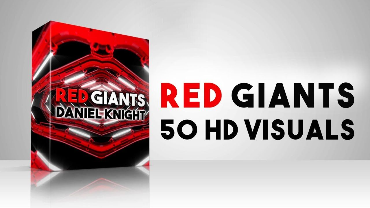 Red Giants VJ Loops Video Pack Red giant, Clip art, Red