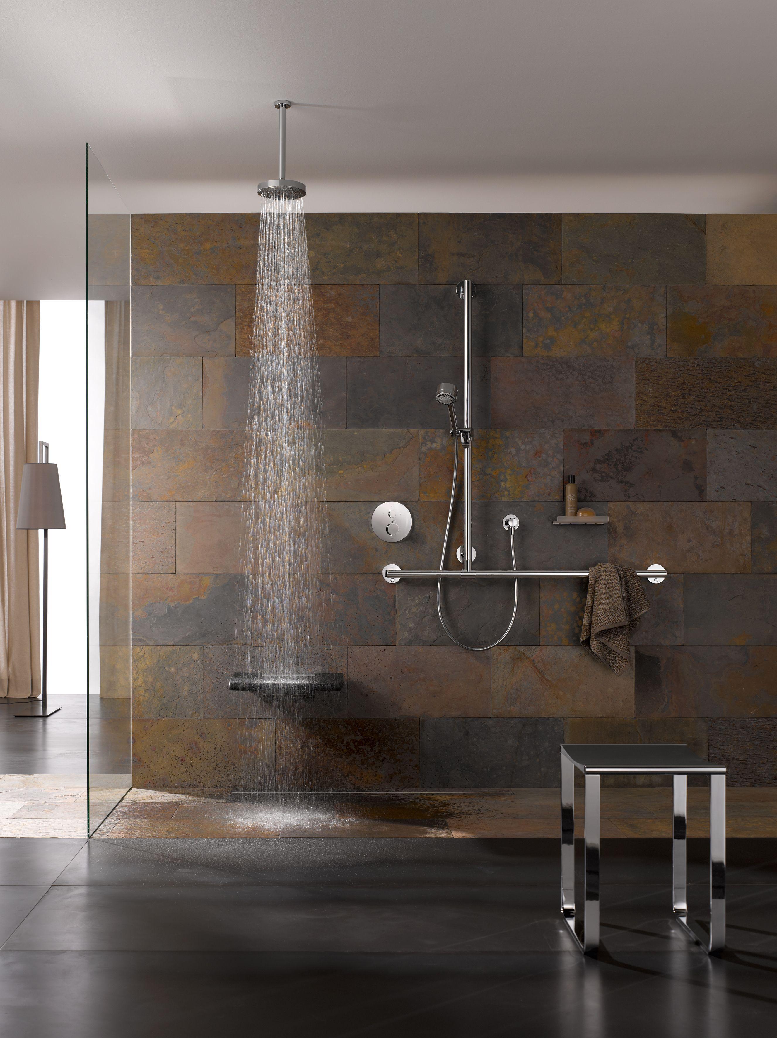 komfortabel und praktisch walk in duschen lak s pinterest fliesen wirken und b der. Black Bedroom Furniture Sets. Home Design Ideas