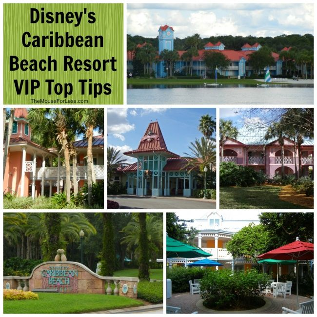 Carribean Beach Resort Map