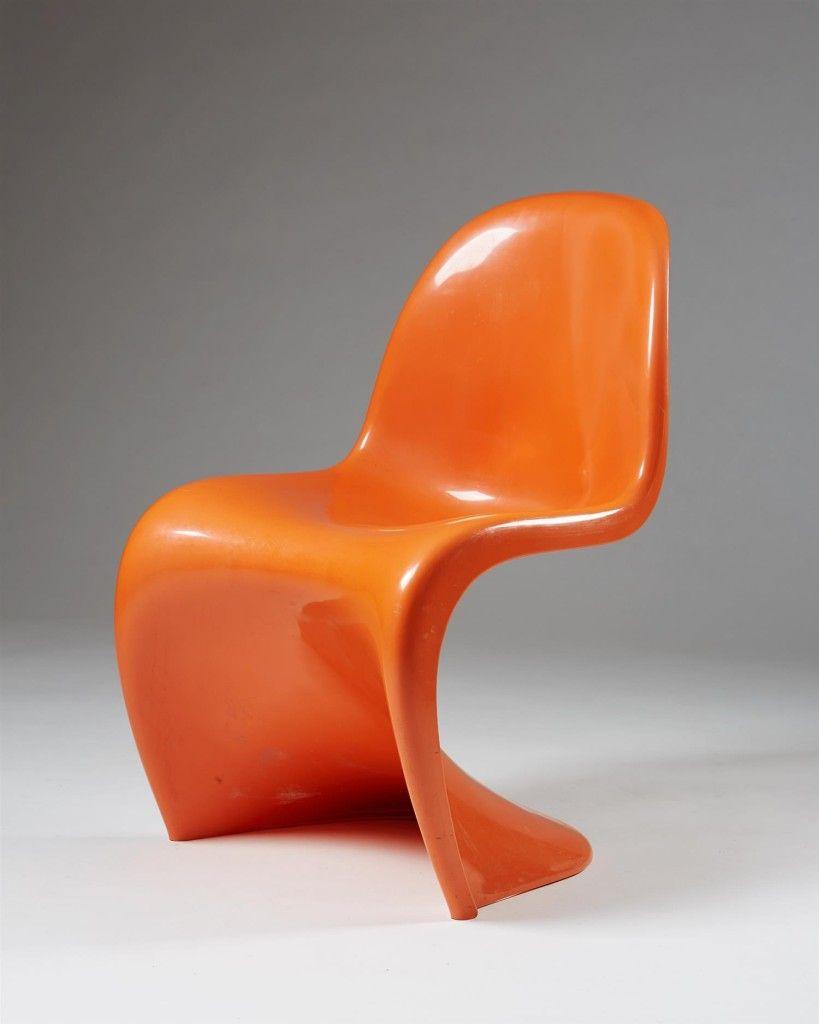 Verner Panton, Herman Miller, USA, 1962 | Chaise panton
