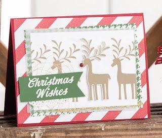 Stampin' Up! Merry Mistletoe Christmas Card Ideas ~ 2017-2018 ...