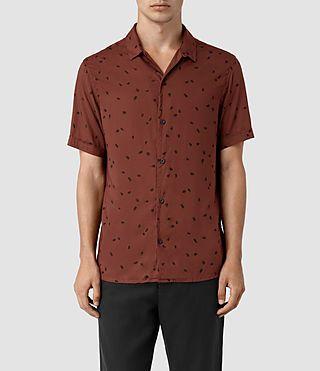 ALLSAINTS Nauvoo Ss Shirt. #allsaints #cloth #