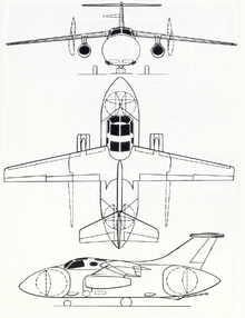 The Hawker Siddeley P.139B was a proposed airborne early warning aircraft intended to operate from aircraft carriers of the Royal Navy. The P.139B formed part of the a major equipment procurement plan for the RN in the 1960s intended to give the service a force of new, modern carriers capable of operating air groups consisting of equally modern aircraft. However, cuts in defence spending by the British Government in the mid-1960s meant that these proposals never came to fruition.