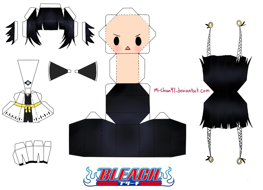paper craft bleach Buscar con Google Papercraft