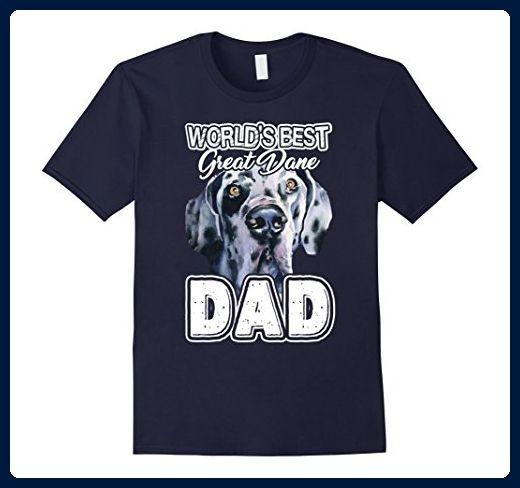 Mens Great Dane Shirt Great Dane Dad Tee Shirt Medium Navy