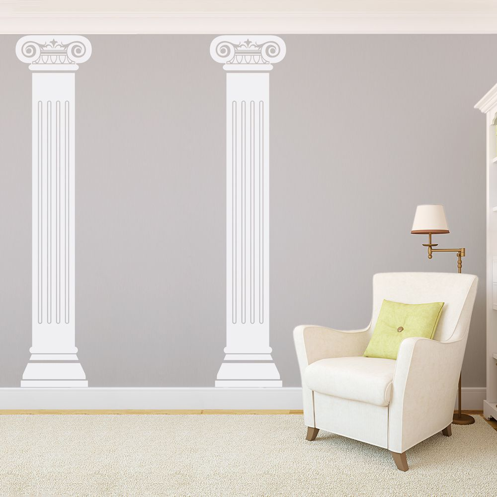 Roman Columns Wall Decal Roman Columns Wall Decals Wall