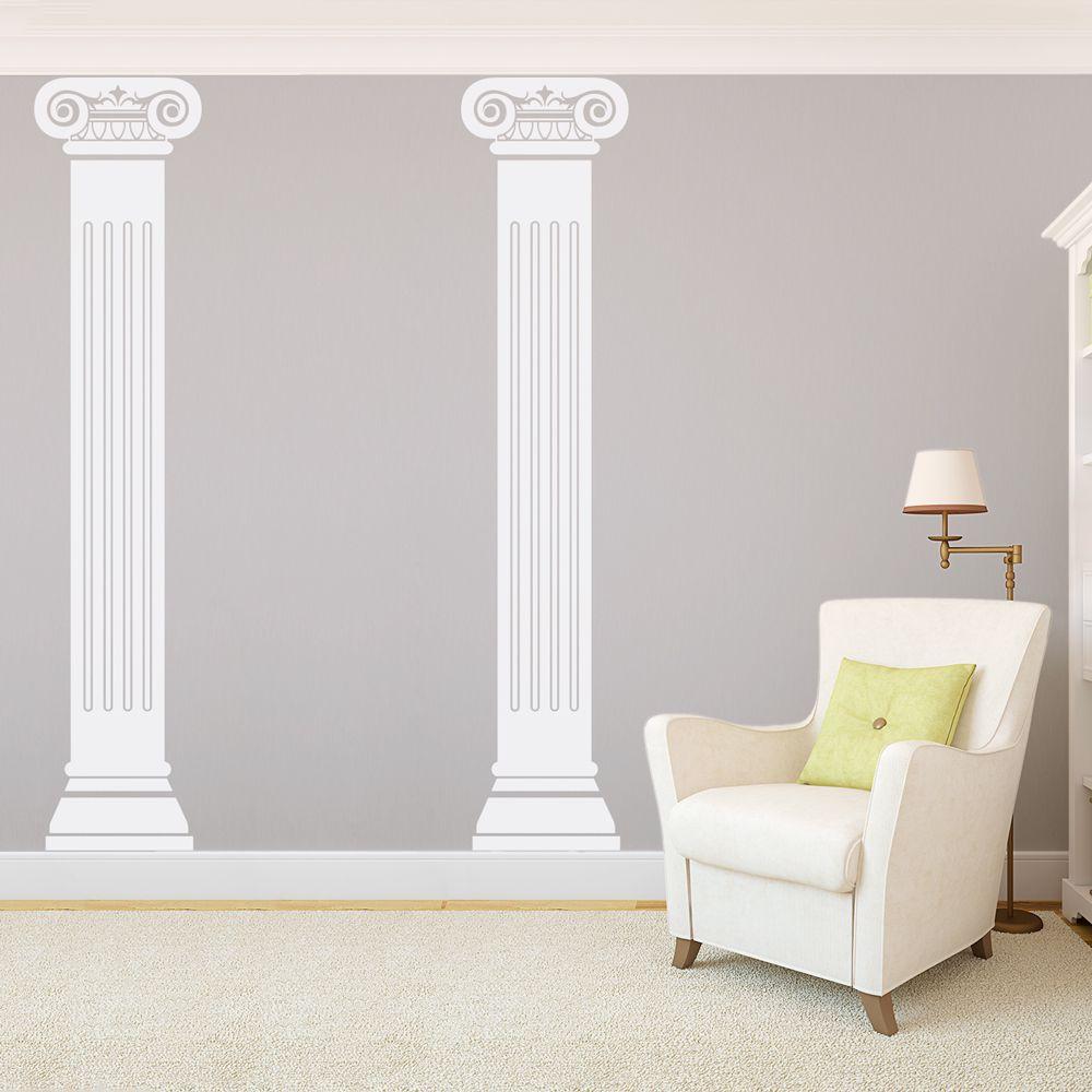 Roman Columns Wall Decal Roman Columns Wall Decals Wall