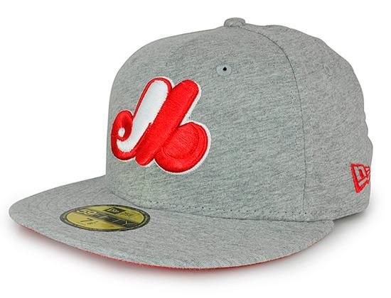 2d60cb831 Custom NEW ERA x MLB「Montreal Expos Jersey Basic」59Fifty Fitted ...