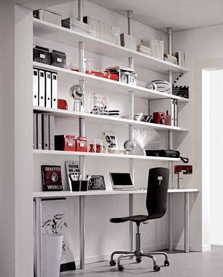 Crear tu oficina en casa es muy f cil habitaciones for Decoracion de oficinas juveniles