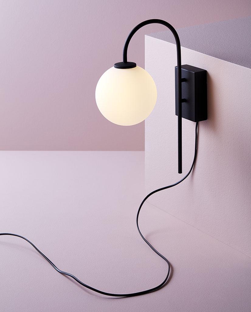 Astro Yuma 300 LED Vegglampe Sort i 2020 | Vegglamper