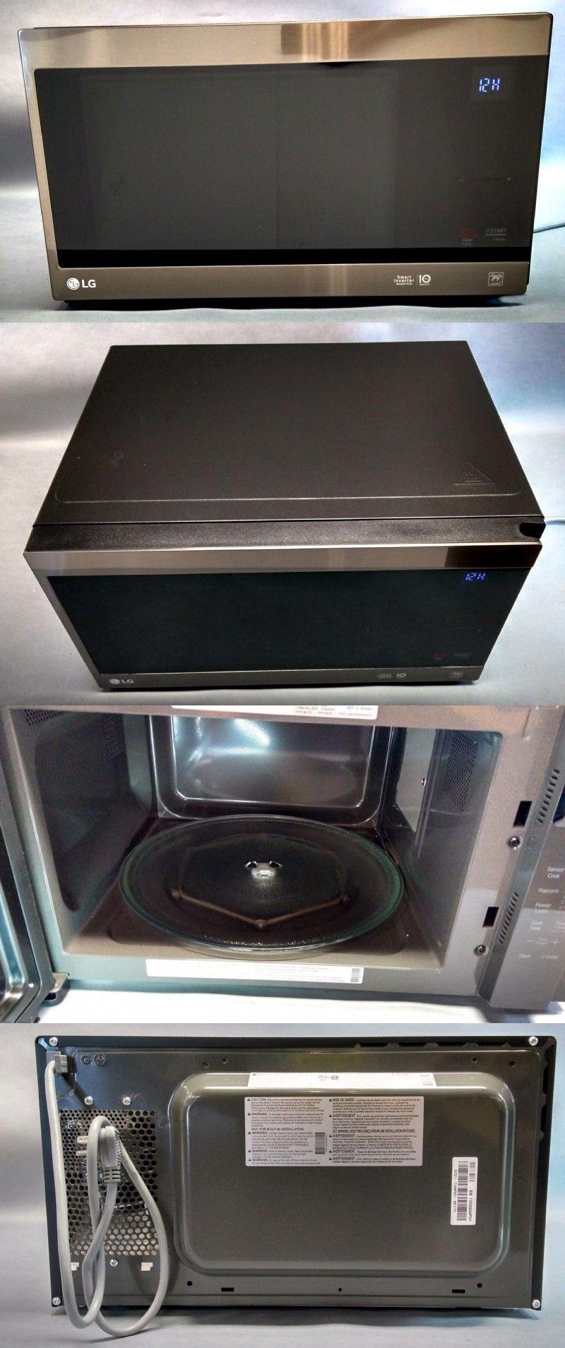 Microwave Ovens 150140 Lg Microwave Inverter 1200w Lmc1575bd 1 5