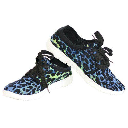 Athletic Stylish Leopard Print Running Sneaker, start at $17