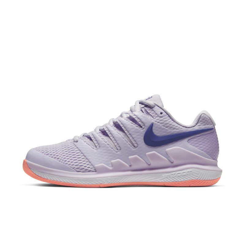 Nikecourt Air Zoom Vapor X Women S Hard Court Tennis Shoe Purple In 2020 Shoes Nike Sneakers Nike