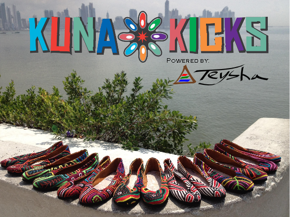 Kuna Kicks are one-of-a-kind flats made by the women in Panama. Help preserve this traditional art form and increase womens access to opportunities. www.teysha.is