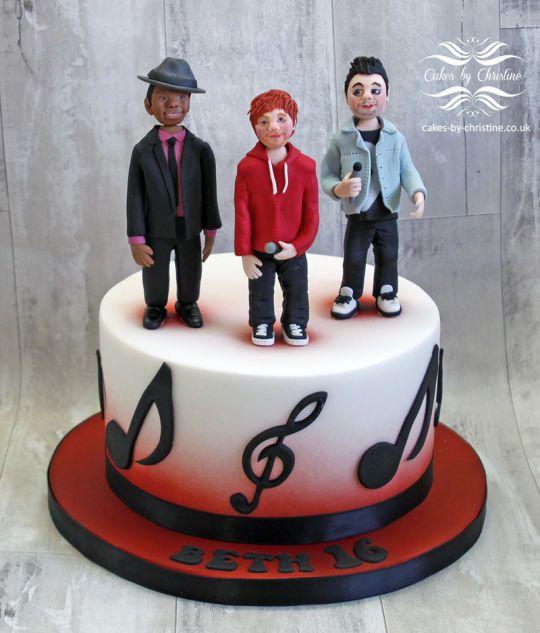 Ed Sheeran Dan Smith Bastille And Bruno Mars Cake Cake