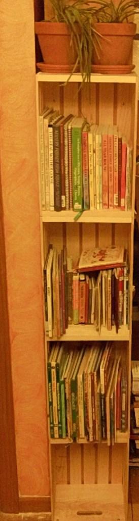DIY easy bookshelf