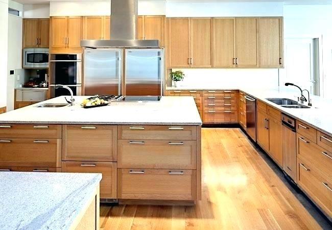 Best White Oak Kitchen Cabinets White Oak Kitchen Cabinets 400 x 300