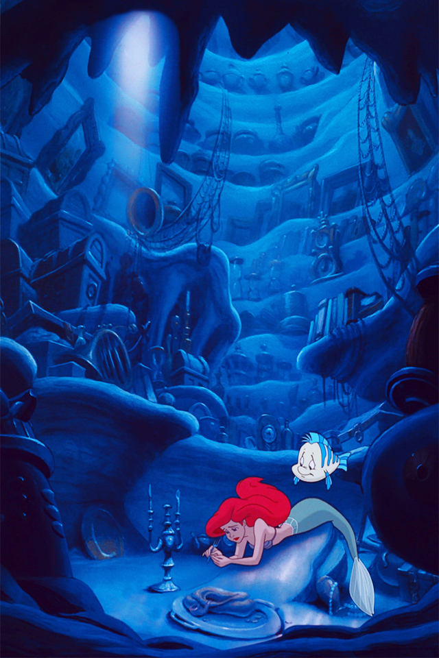 Mickeyandcompany The Little Mermaid Iphone Backgrounds Feel Free