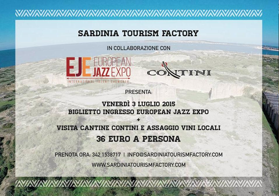 Collaborazione con European Jazz Expo 2015 e Cantine Contini