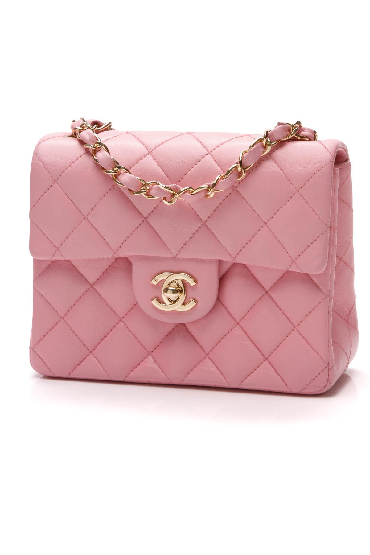0b7cc520a8fd Chanel Classic Flap Bag - Mini Pink Lambskin | Crazy for Coco ...
